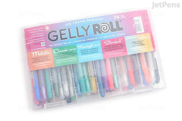 Sakura Gelly Roll Gel Pen 74 Color Set Jetpens
