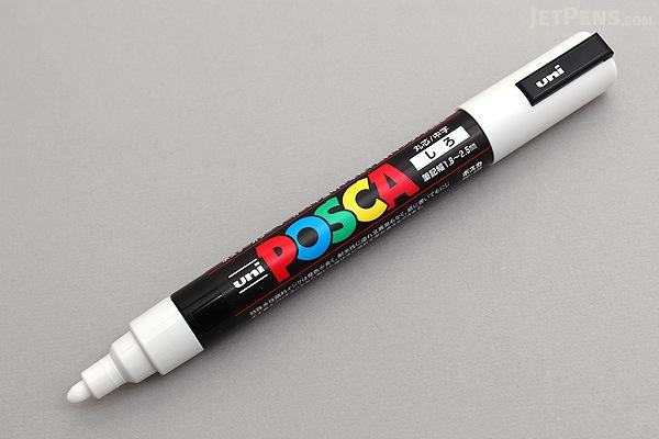 Uni Posca Paint Marker Pc M White