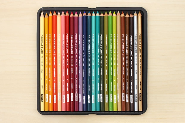 Colored Pencils Offer A Huge Range Of Colors We