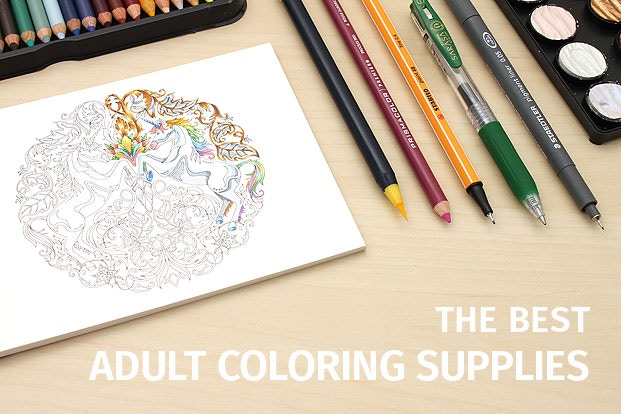 The Best Adult Coloring Supplies - JetPens.com