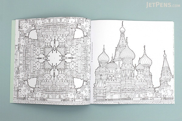 Fantastic Structures A Coloring Book Of Amazing Buildings