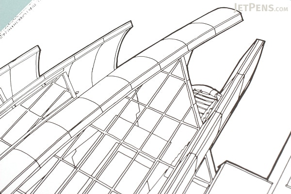 Fantastic Structures: A Coloring Book of Amazing Buildings