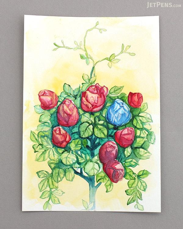 pepin postcard coloring book india pepin 96150 - Watercolor Coloring Book