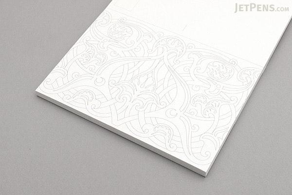 Pepin Postcard Coloring Book - Arabian Designs - JetPens.com