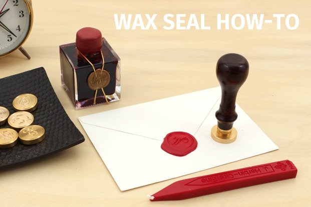 Wax Seal How To Jetpens