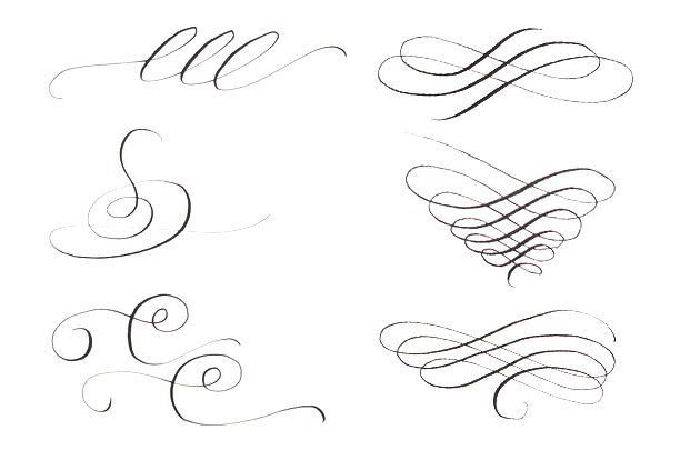 Calligraphy Strokes Guide
