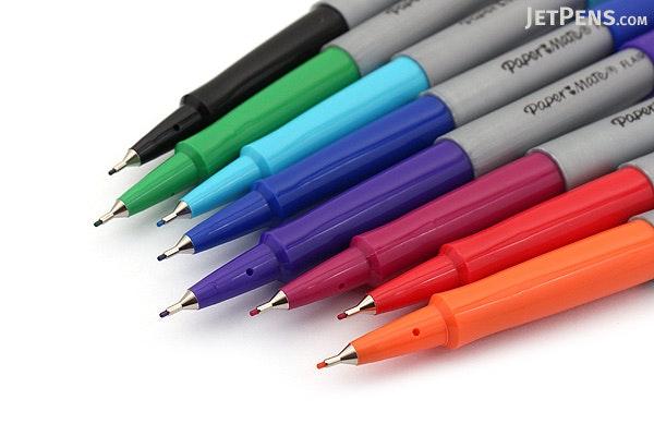 paper mate flair felt tip pen ultra fine point 8 color set. Black Bedroom Furniture Sets. Home Design Ideas