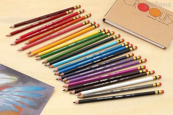prismacolor col erase colored pencil green 20046 jetpens com