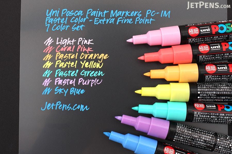 Uni Posca Paint Marker Pc 1m Pastel Color Extra Fine