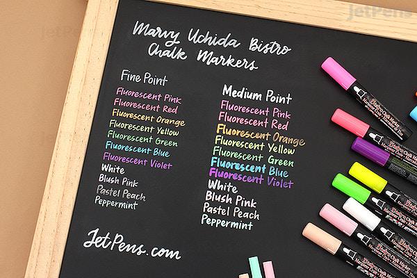 Marvy Uchida Bistro Chalk Marker Fine Point White