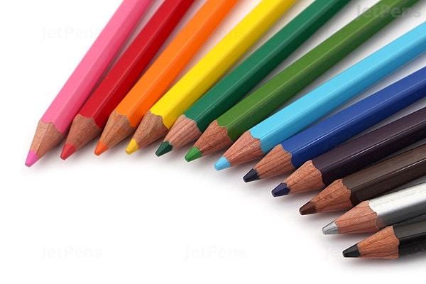 palomino blackwing colors colored pencils pack of 12 jetpens com