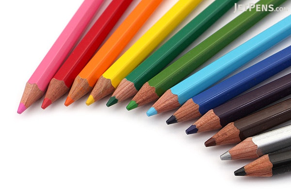 palomino blackwing colors colored pencils pack of 12 palomino 103888
