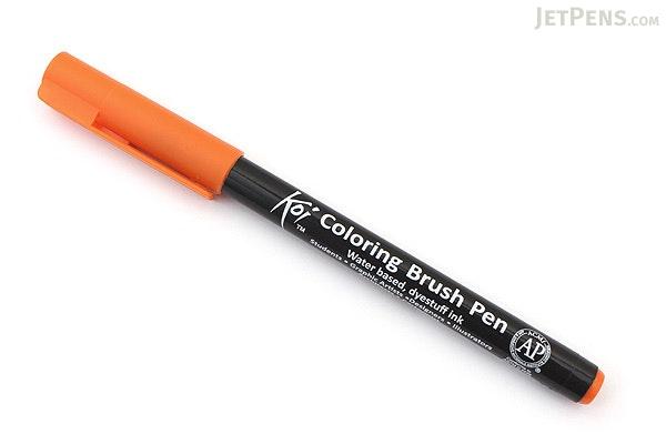 Sakura Koi Coloring Brush Pen - Blue Green Light (28) - JetPens.com