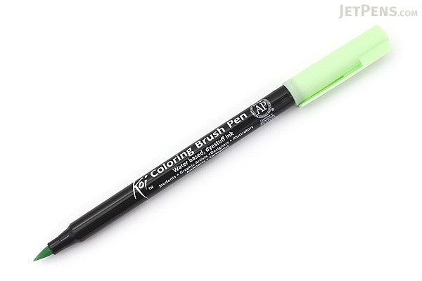 Sakura koi coloring brush pen ice green 128 for Koi brush pen
