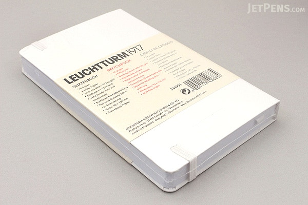 Leuchtturm1917 Pocket Sketchbook A6 White Jetpens Com
