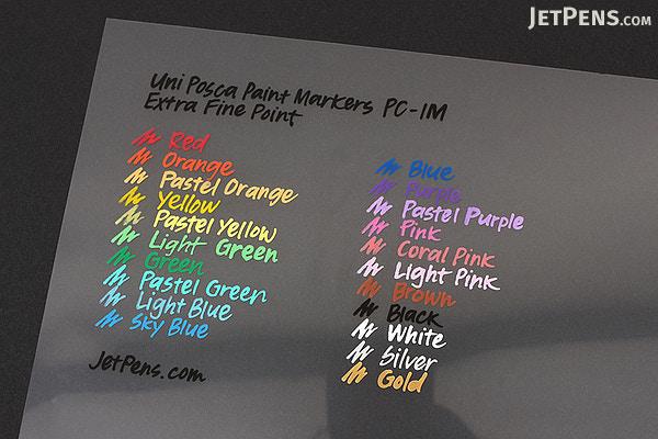 Uni Posca Paint Marker Blue M