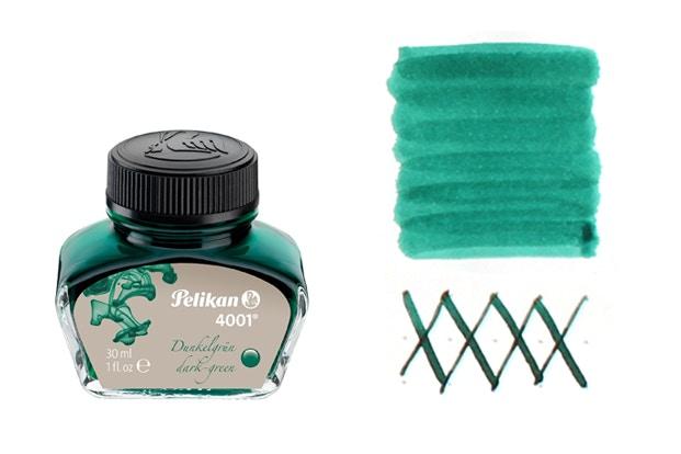 Well Behaved Dark Green Pelikan 4001