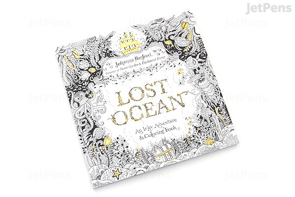 Lost Ocean An Inky Adventure Coloring Book