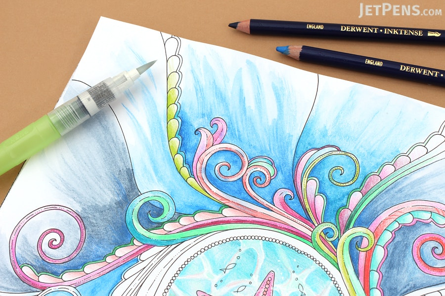 Lost Ocean An Inky Adventure Amp Coloring Book