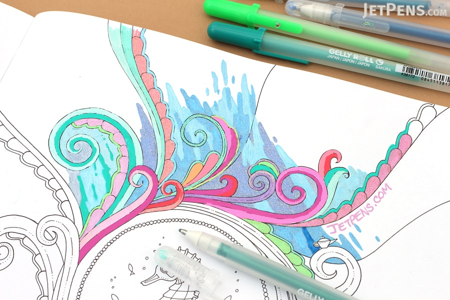 Lost Ocean An Inky Adventure Amp Coloring Book