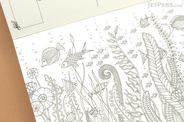 Lost Ocean Postcards Johanna Basford Set Of 36