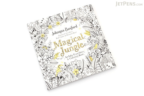 Magical Jungle: An Inky Expedition & Coloring Book