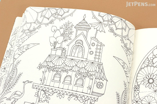 Magical Jungle An Inky Expedition Coloring Book