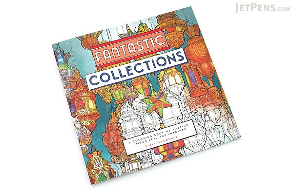 Fantastic Collections A Coloring Book Of Amazing Things