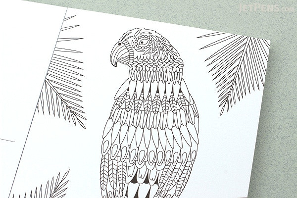 Mindfulness Coloring Postcards