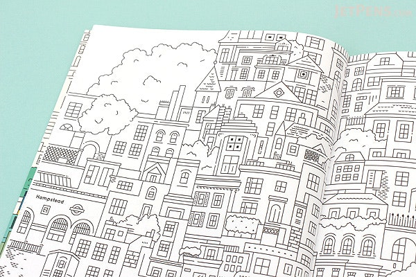 Lost In London Coloring Book
