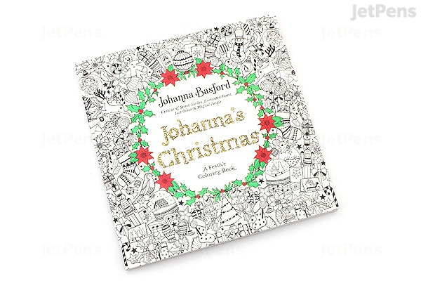 johannas christmas a festive coloring book johanna basford penguin books 9780143129301