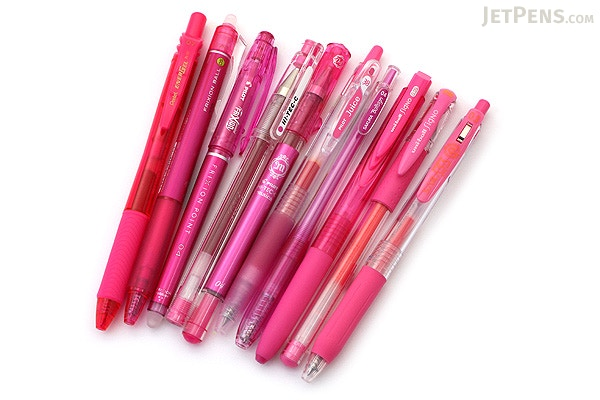 ... JetPens Pink Gel Pen Sampler - JETPENS JETPACK-050 ...
