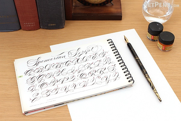 Speedball Signature Calligraphy Pen Set With Gold