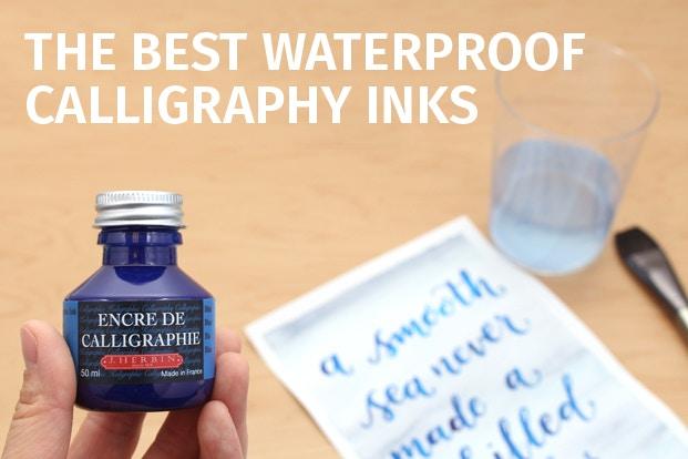 Waterproof calligraphy inks jetpens.com