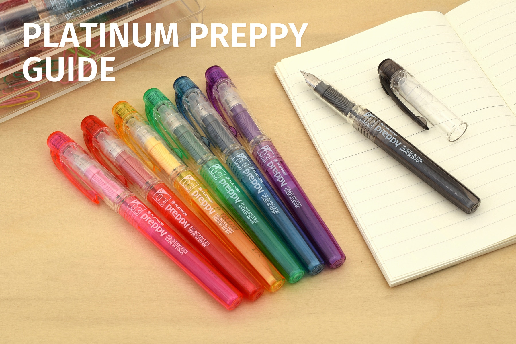 Platinum Preppy: A Comprehensive Guide | JetPens
