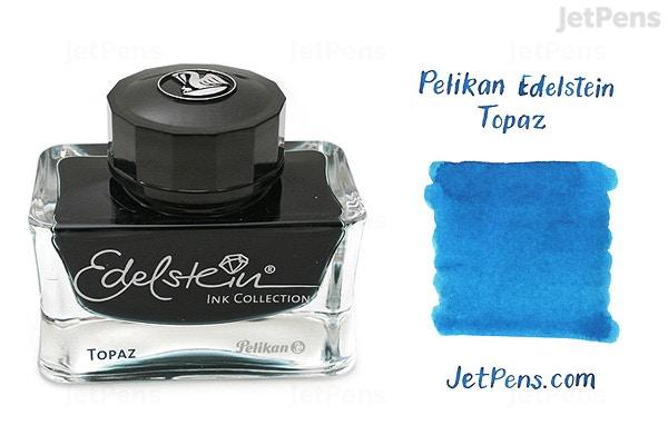 JetPens com - Pelikan Edelstein Topaz Ink - 50 ml Bottle