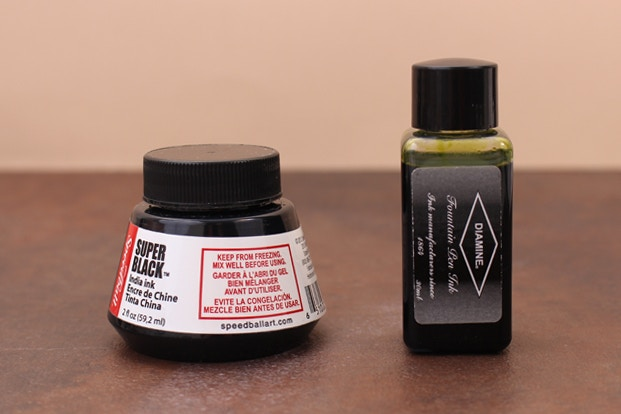 How To Mix Calligraphy Inks