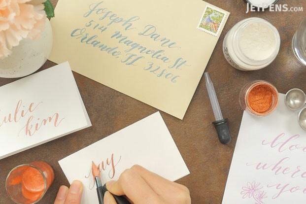 Speedball white calligraphy ink pigmented acrylic 0.4 oz bottle