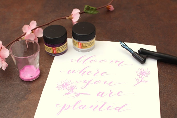 How to mix calligraphy inks jetpens.com