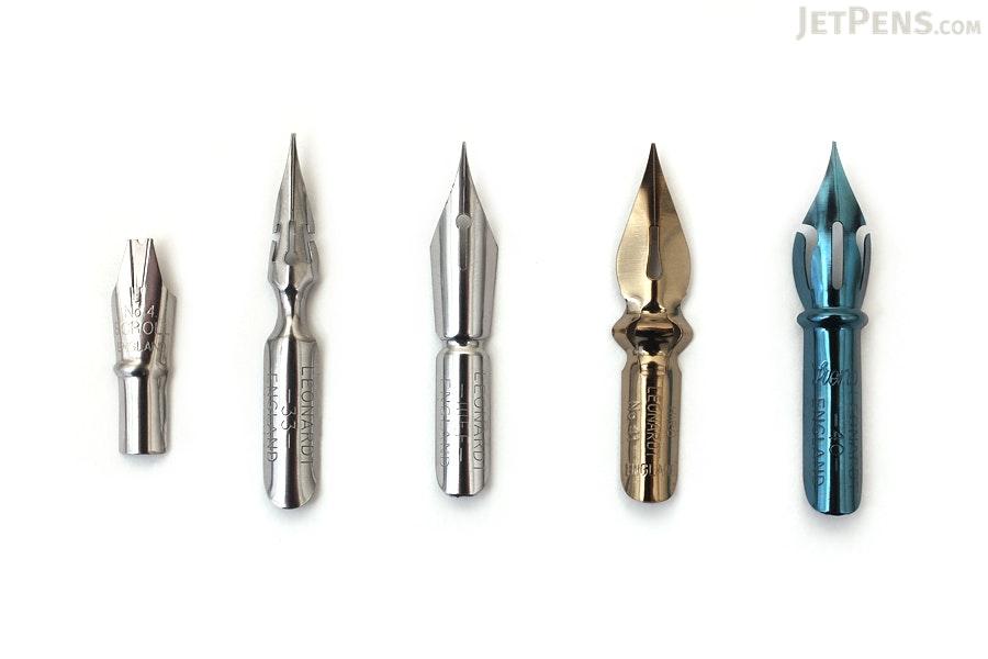 Manuscript Leonardt Copperplate Shadow Dip Pen Nibs