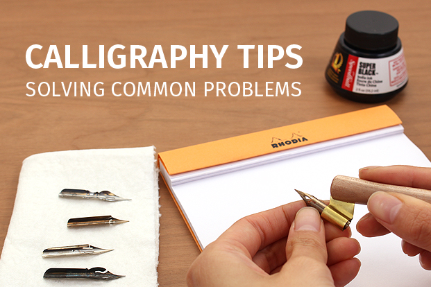 Calligraphy Tips Solving Common Problems