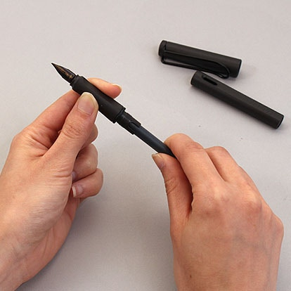 lamy converter how to use