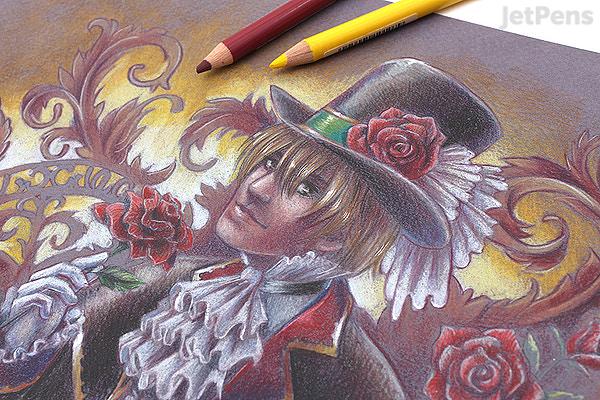 jetpens com faber castell polychromos artist colored pencil 36 color tin set