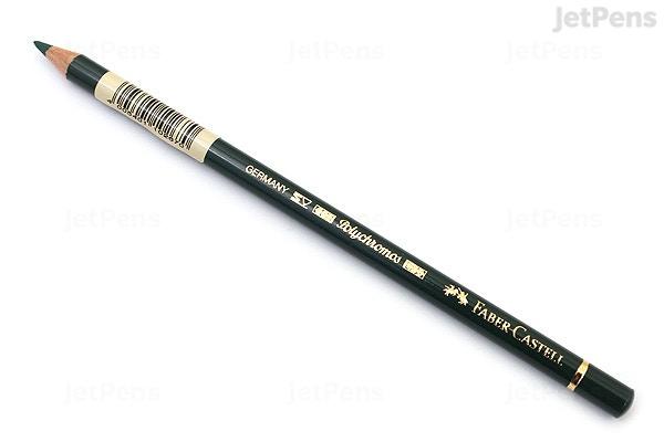 jetpens com faber castell polychromos artist colored pencil pine green 267