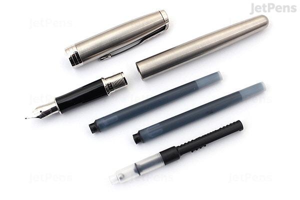 Parker Sonnet Fountain Pen Stainless Steel Chrome Trim