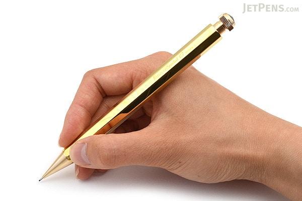 Kaweco Special Brass Mechanical Pencil 0 7 Mm Jetpens Com