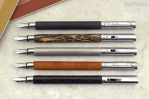 Faber Castell Design Ambition Fountain Pen Stainless Steel Extra
