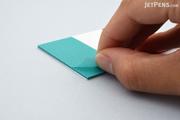 Pcm Takeo Peta Clear Sticky Notes Red White Aqua