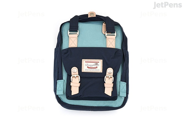 262a7cd283 Doughnut Macaroon Mini Backpack - Sky Blue x Navy - DOUGHNUT D124-6169-F ...