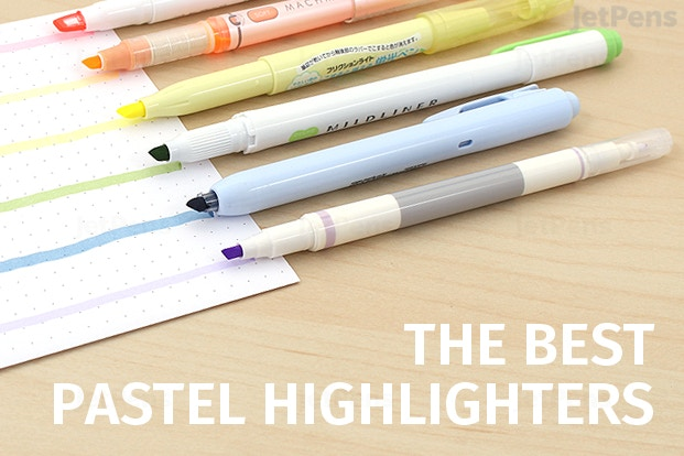 The Best Pastel Highlighters Jetpens